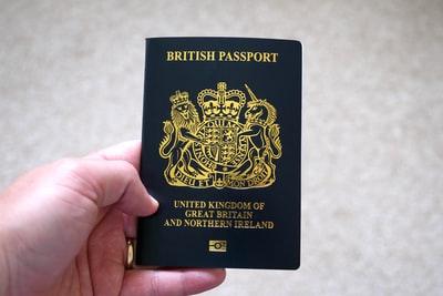 イギリスパスポート